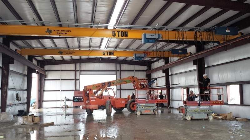 5 ton crane installation demag